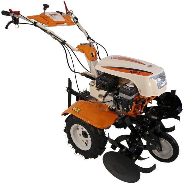motocultor pe benzina o mac new 1000 s 8 cp 223 cc 3 viteze 90 cm latime
