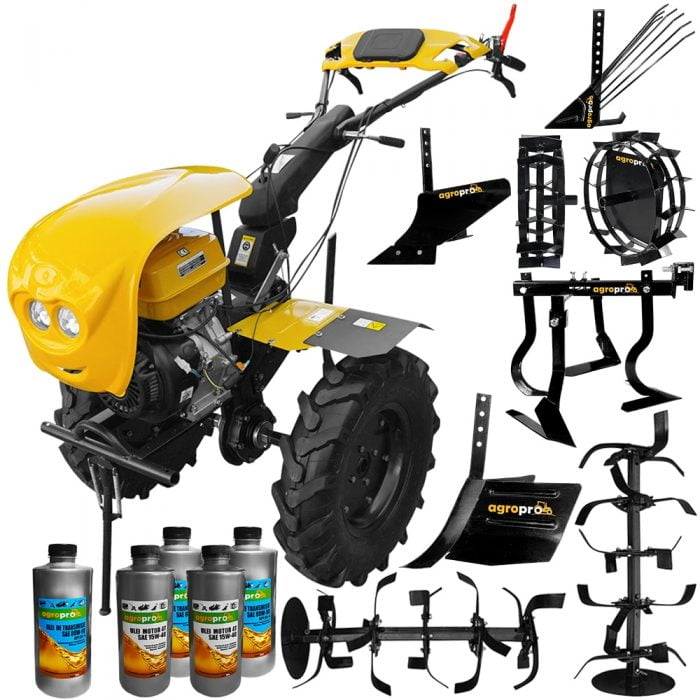 motocultor profesional agropro progarden hs 1100d euro 5 18 cp latime