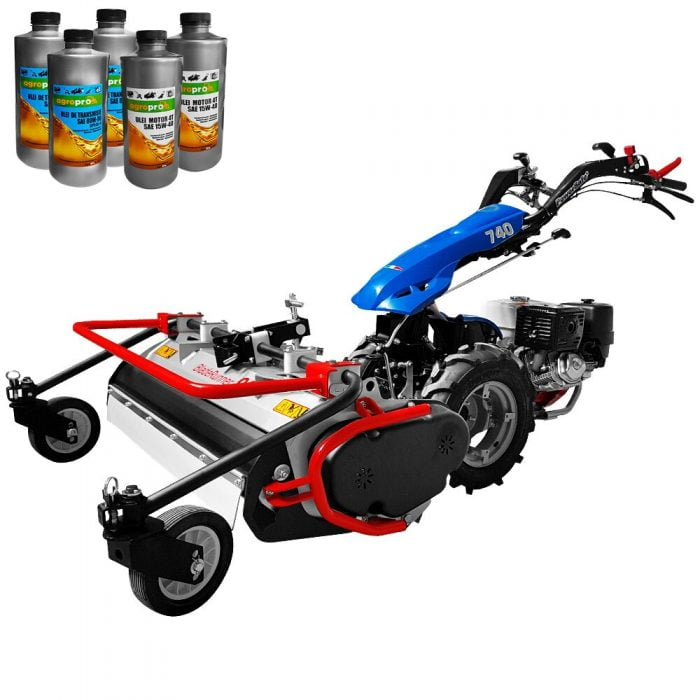 motocultor profesional bcs 740 power safe honda gx390 13 cp tocator de