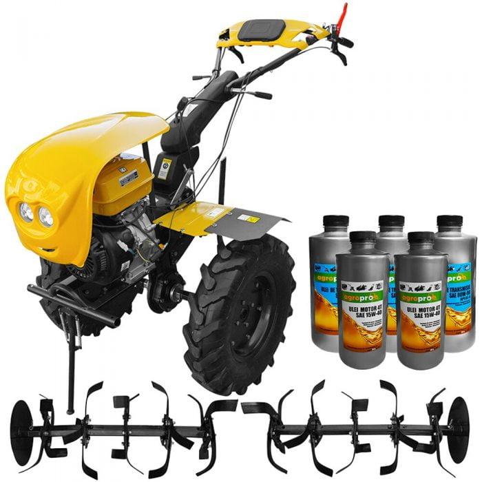 pachet motocultor profesional agropro progarden hs 1100d euro 5 18 cp