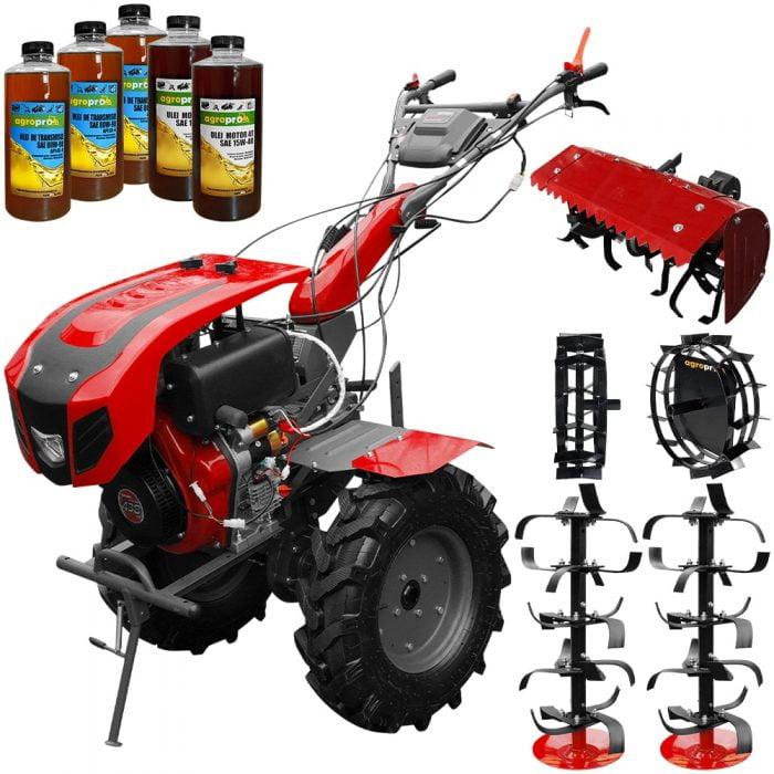 set motocultor weima wm1100be 6 motor 10 cp diesel 6 viteze latime lucru